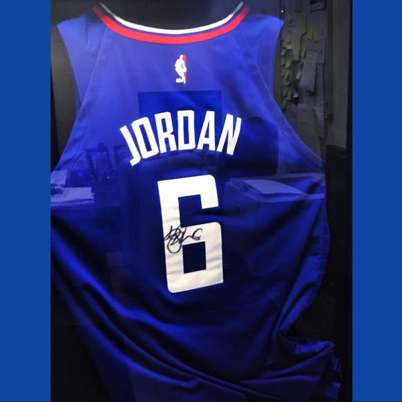 competitive price db0b3 97b0c DeAndre Jordan Clippers (Signed Jersey)